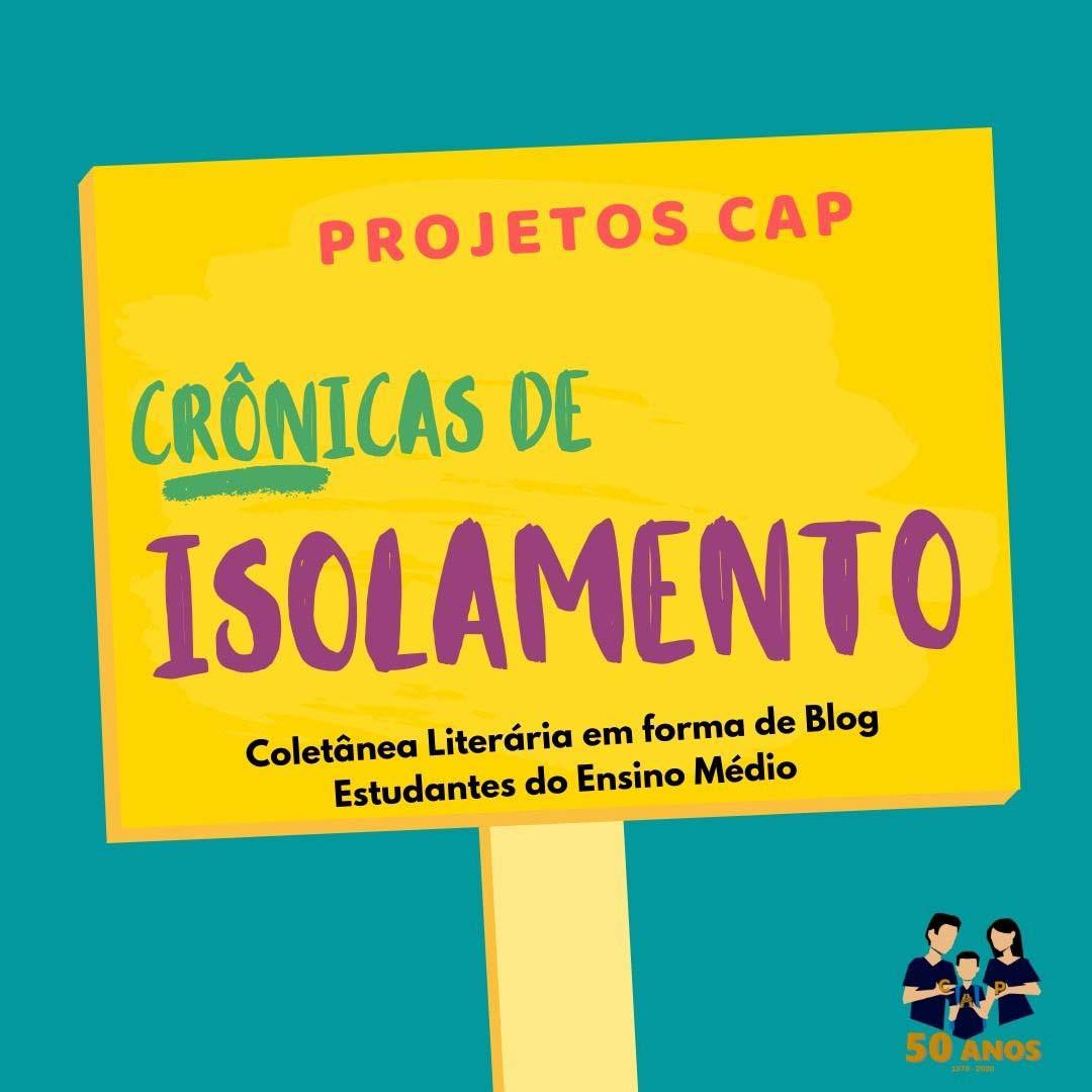COLETÂNEA LITERÁRIA - CRÔNICAS DE ISOLAMENTO