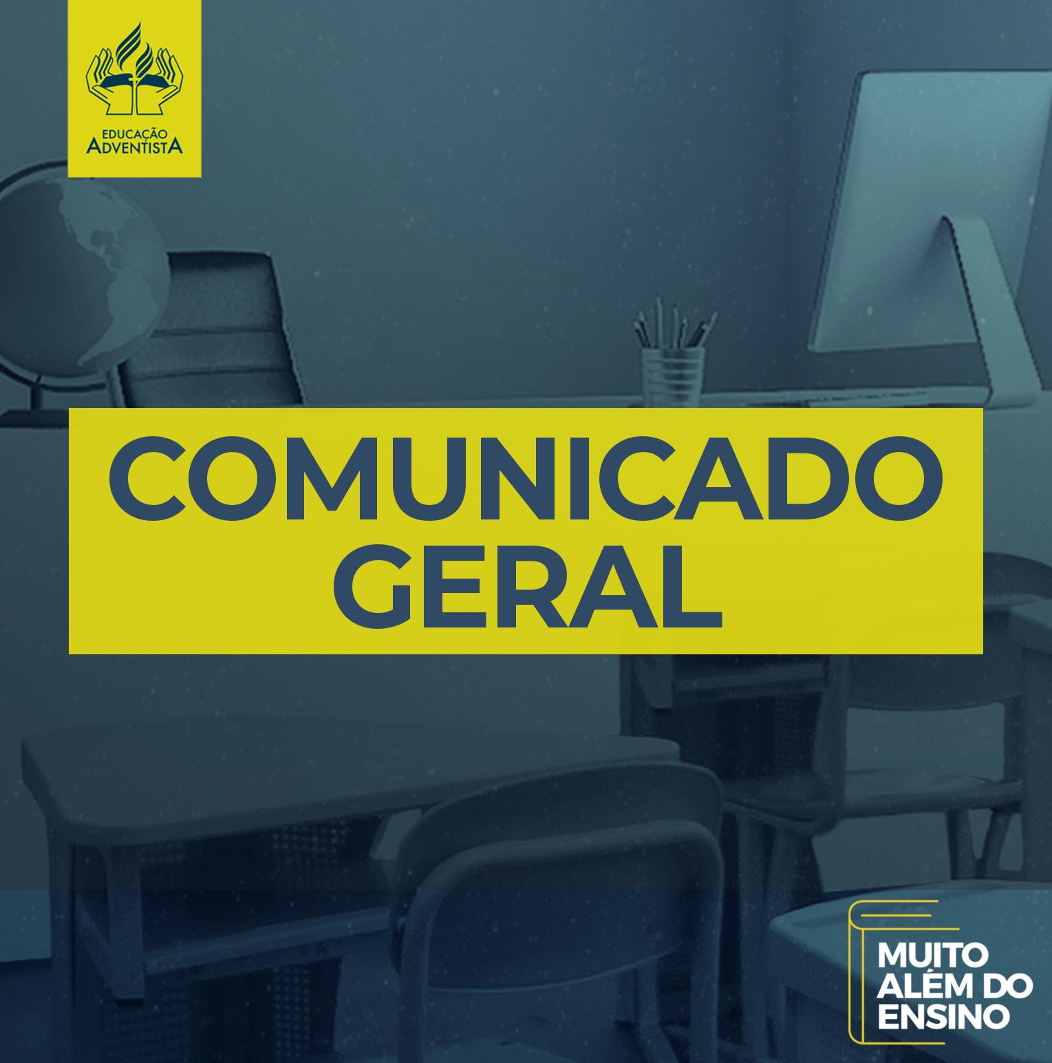 Comunicado Geral 018