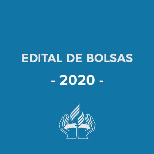 Edital de Bolsas - 2020