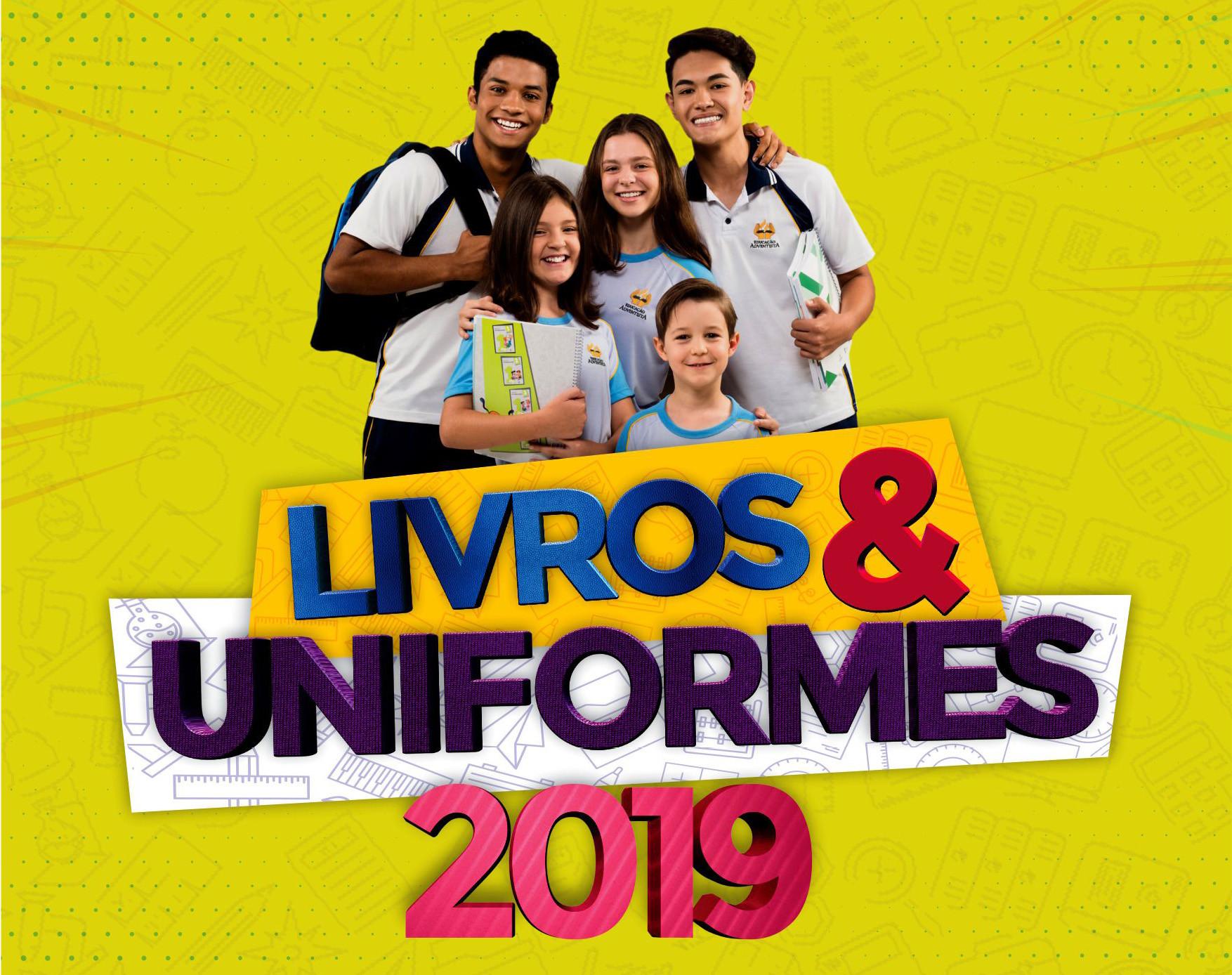 Livros e Uniformes 2019