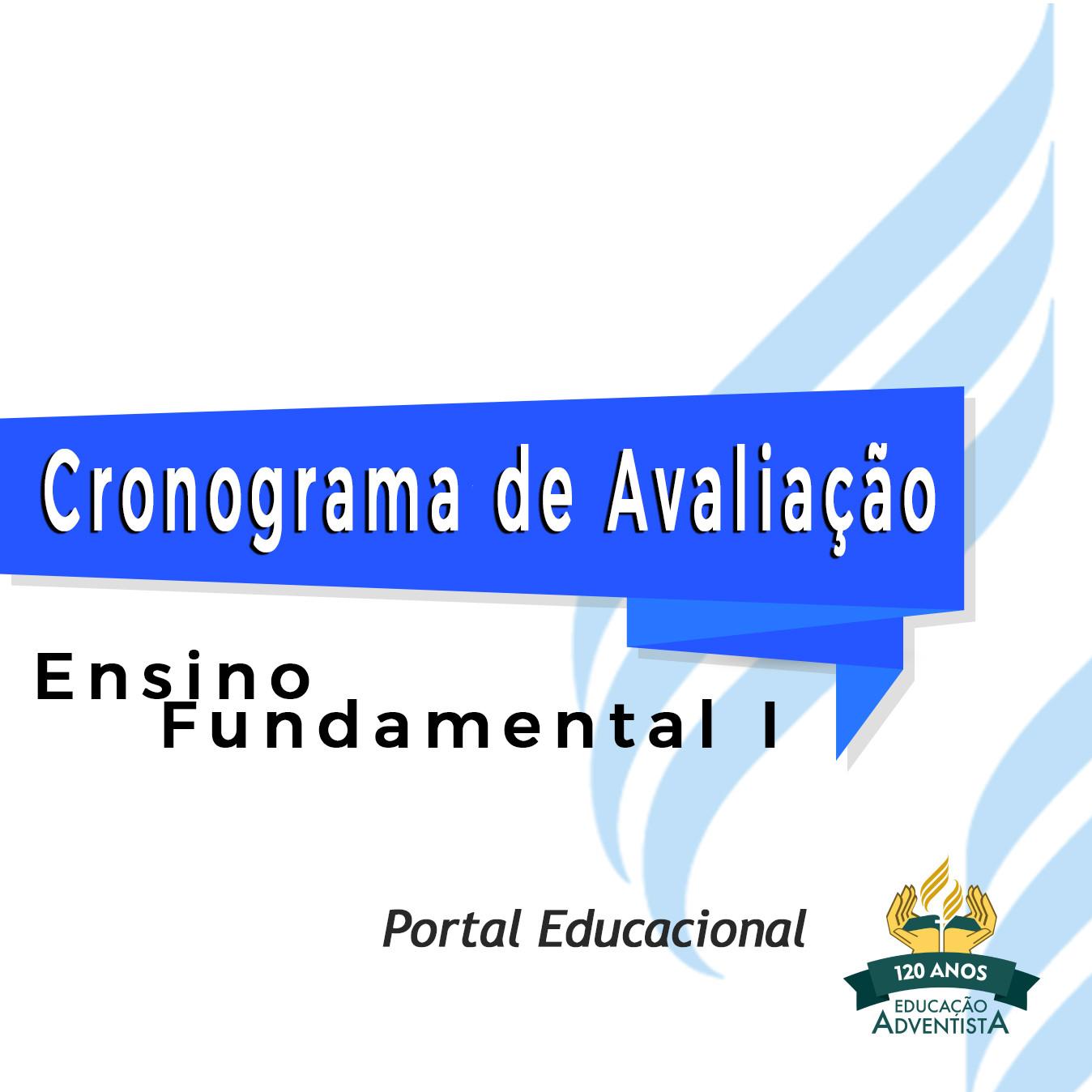 Cronograma de Avaliação - Ensino Fundamental I