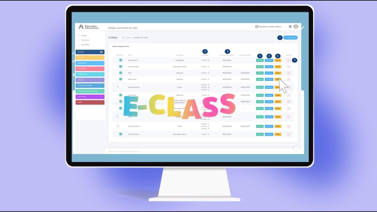 Informações E-class