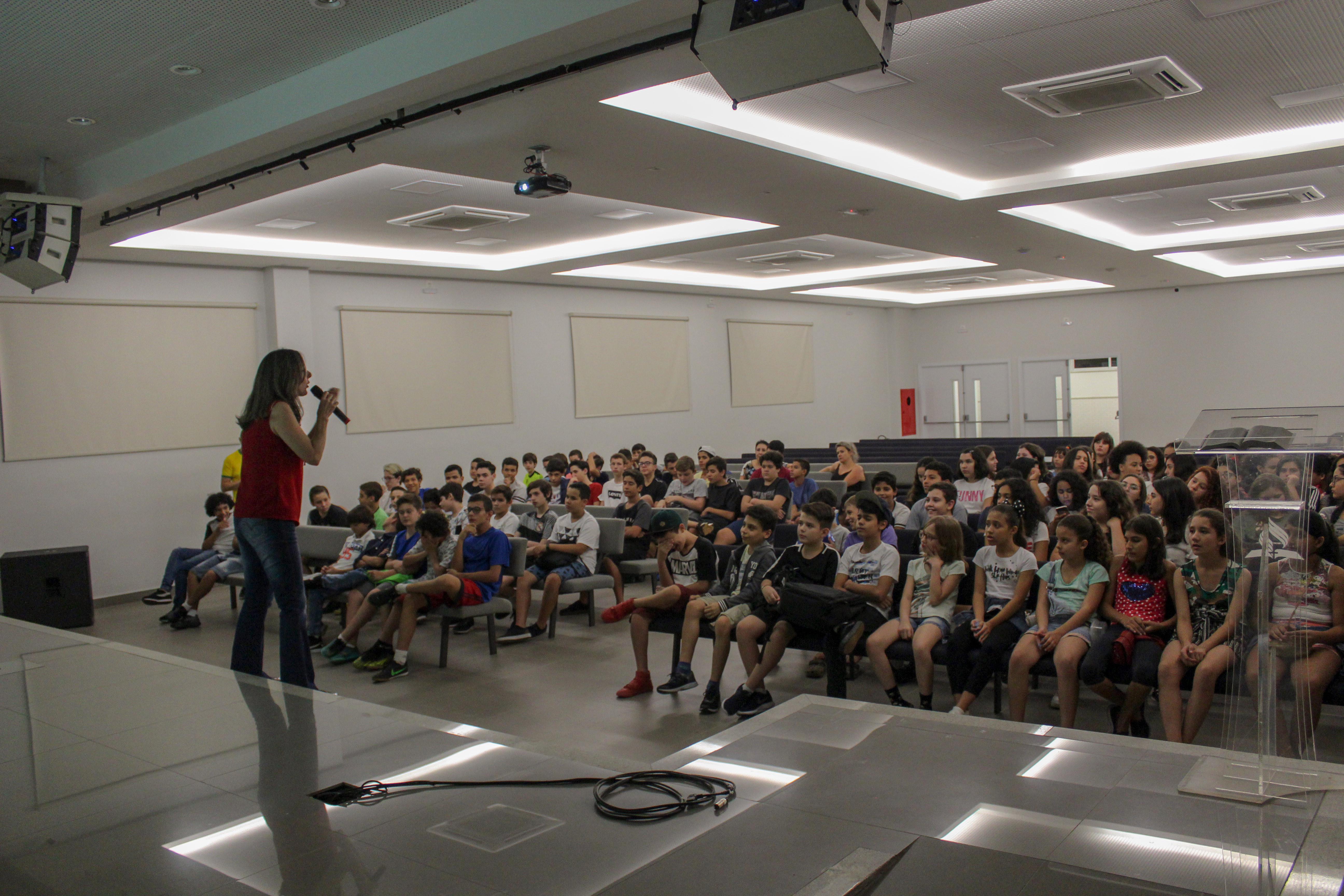 Alunos do 6º ao 9º ano participaram de aulas estilo Cursinho