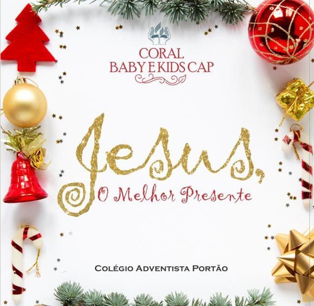 """Cantata de Natal e o lançamento do CD """"O Melhor Presente"""""""