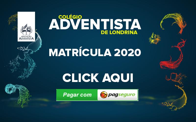MATRÍCULA 2020