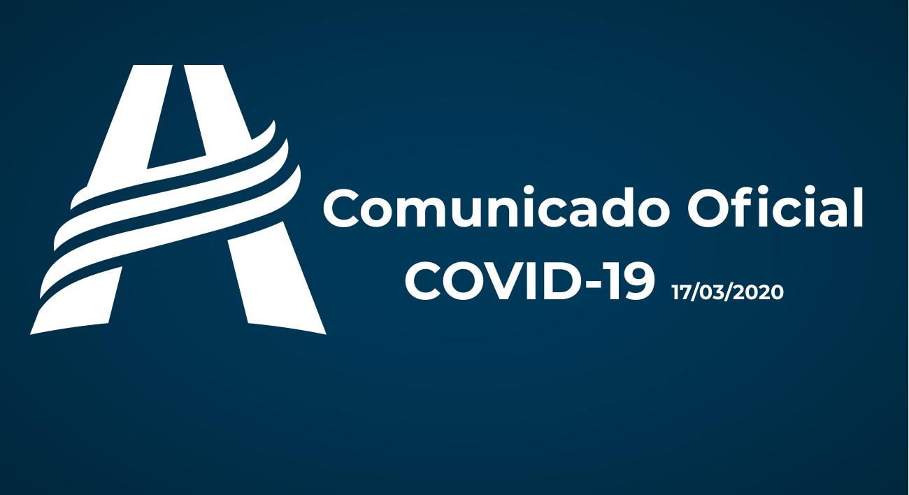 Comunicado Oficial 17/03/2020