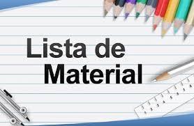Lista de Materiais 2019