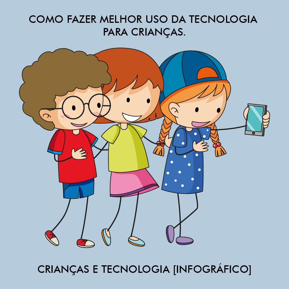 CRIANÇAS E TECNOLOGIA [INFOGRÁFICO]