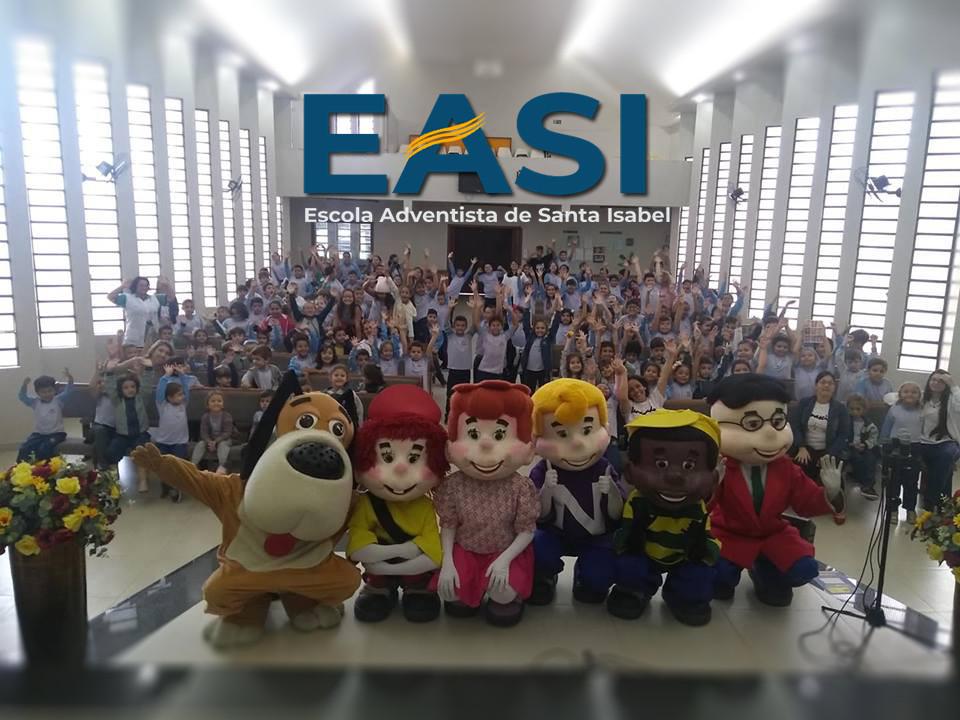 Turma do nosso amiguinho na EASI