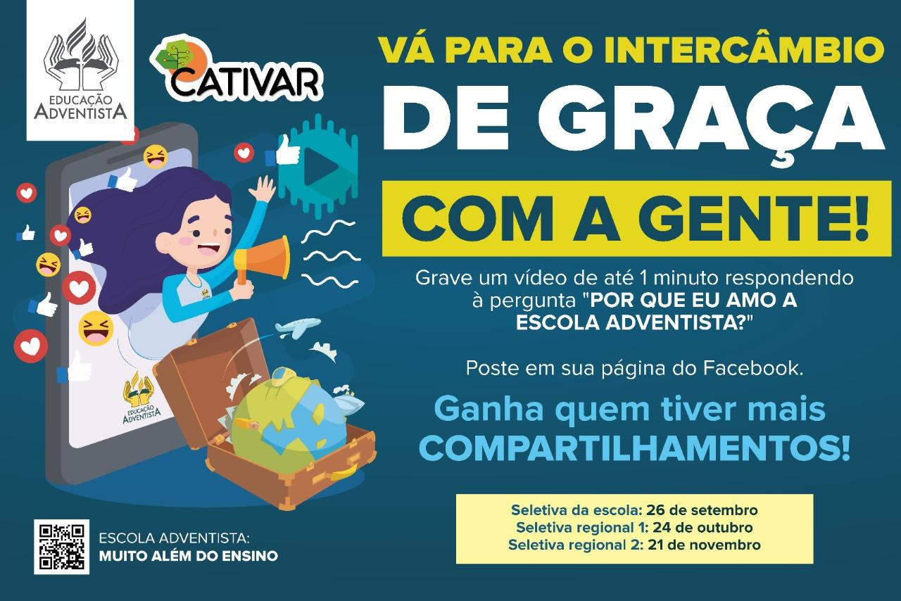 VÁ PARA O INTERCÂMBIO DE GRAÇA COM A GENTE!