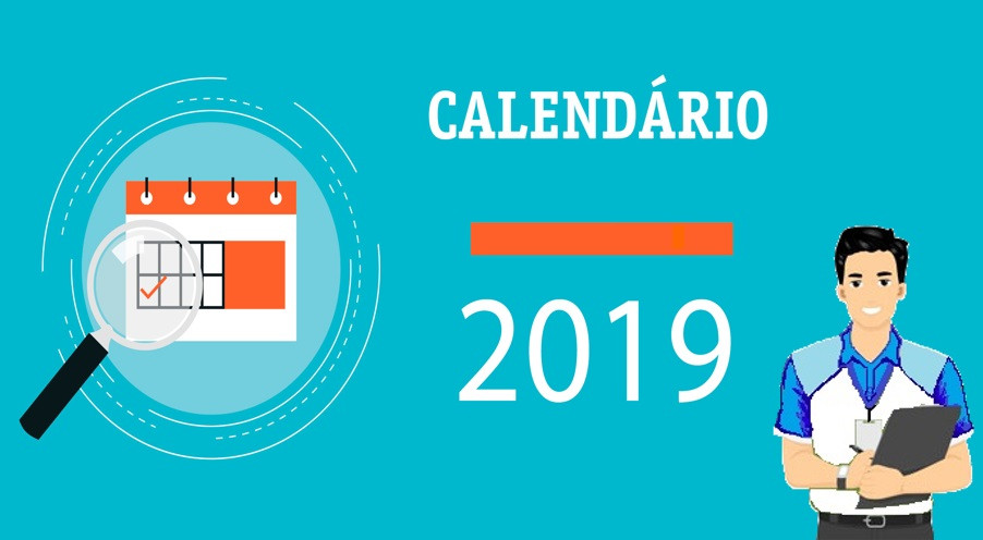 6° Ano B - Calendário - 2 BIM - 2019