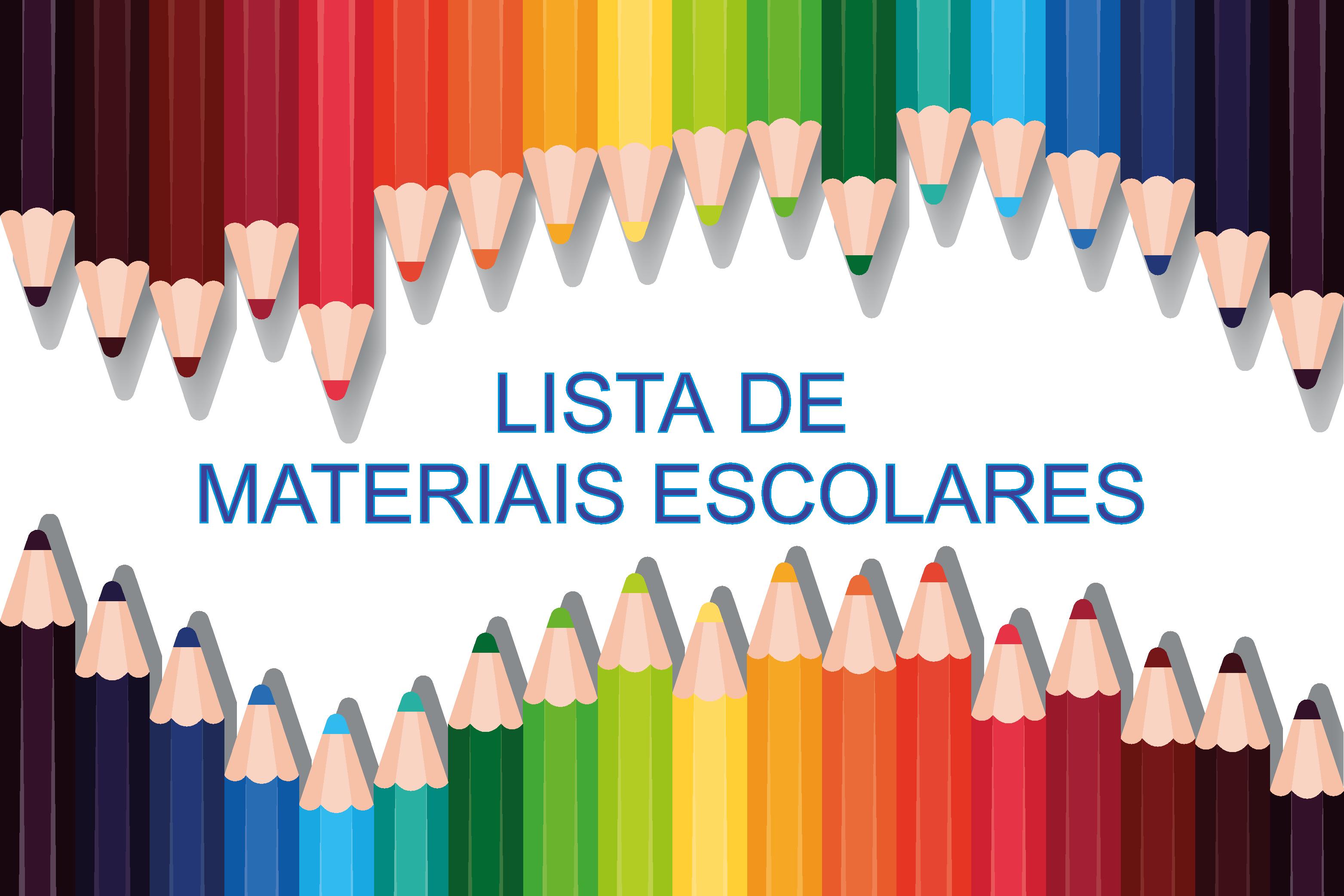 Lista de Materiais Escolares