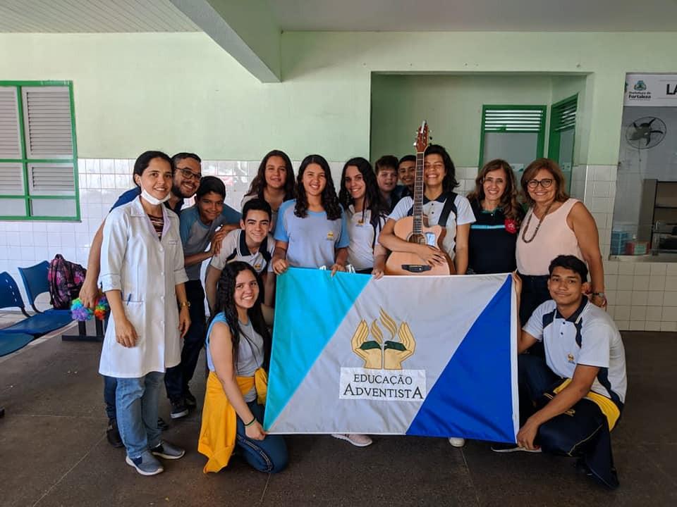 Na semana da Criança no Colégio Adventista de Fortaleza!