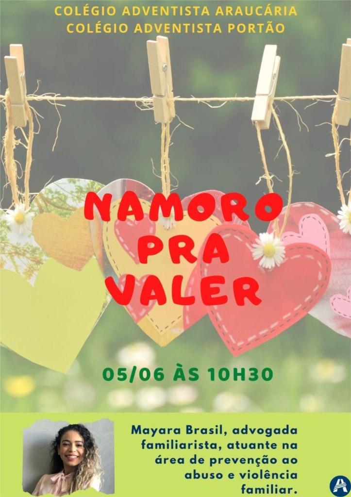 Palestra EM - Namorar pra Valer - 05/06