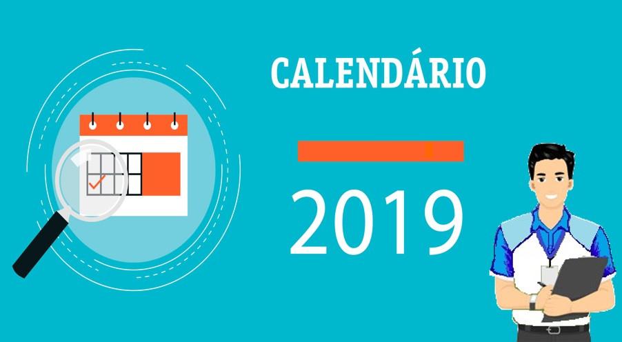 8° Ano B - Calendário - 2 BIM -2019