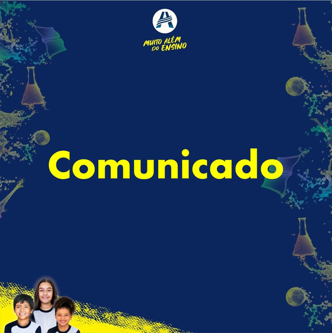 Comunicado - 008/ 2021