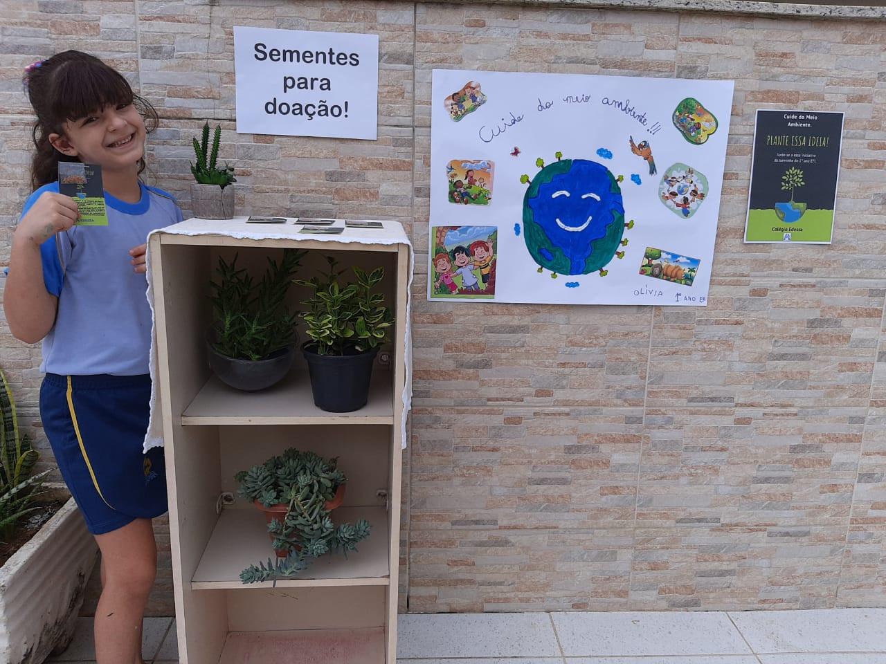 Alunos participam de ação contra a Dengue