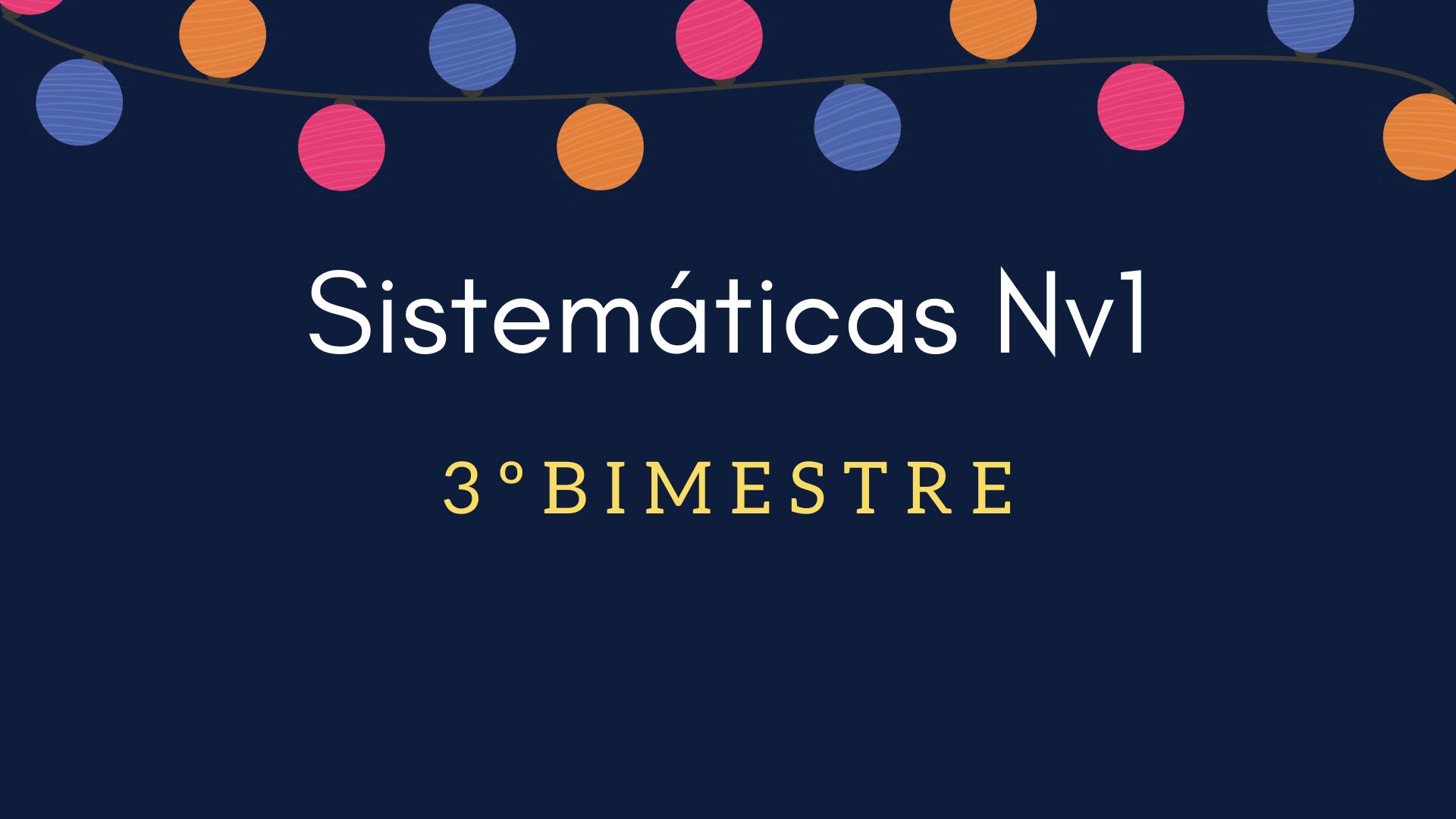 Sistemáticas Nv1