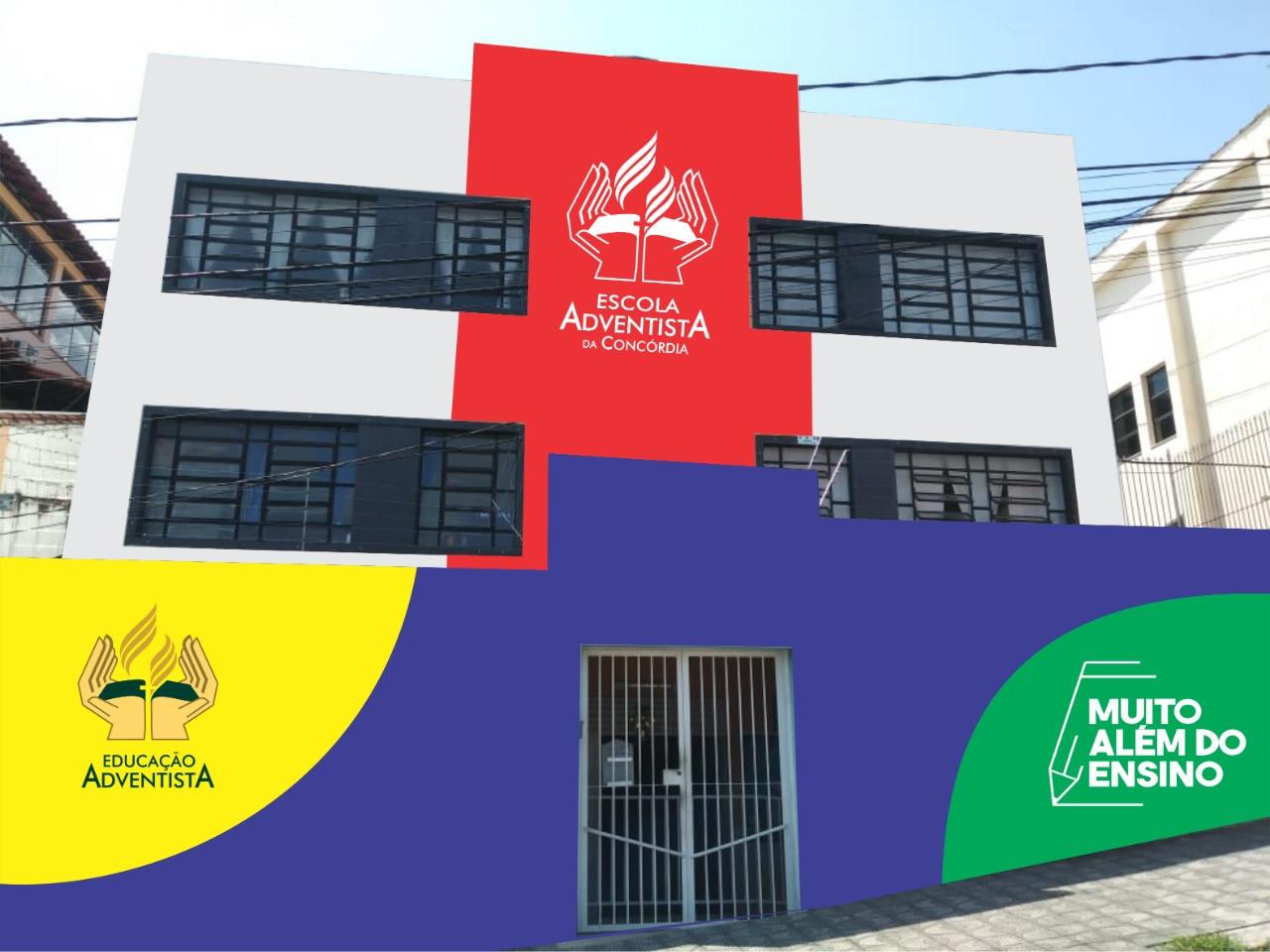 Escola Adventista da Concórdia - Fachada